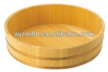 36cm Japanese wood sushi tub for sale