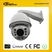 Waterproof IP66 18X Optical zoom 2Megapixel high speed dome oem/odm IR onvif 2.4 ip camera 1080p ptz
