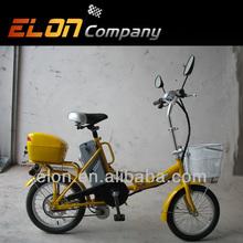 """Bicicletta elettrica pieghevole 16"""" centro motore( e-tde06f)"""