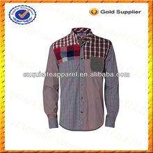 ที่กำหนดเองบุรุษผ้าฝ้าย100%เสื้อผ้า/ผ้าทอสำหรับเสื้อขายส่ง