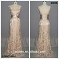 9806 elegante Tulle Fishtail Lace mulheres longas vestido branco