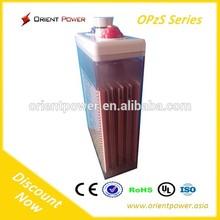 HOT! 2v/4v/6v/12v/24v/48v industrial lead acid battery opzs battery 2500ah opzs solar battery (CE,UL,RoHS,ISO Proofed)