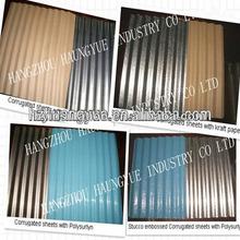 3000 Series Stucco Embossed/Smooth/Corrugated Aluminum Sheet Metal