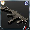 3d cristal láser llavero pistola para los hombres del ejército de recuerdos