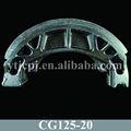 peças personalizadas para motos cg125 sapata de freio