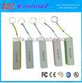 2600 mAh USB banco portable de la energía del cargador para el teléfono móvil