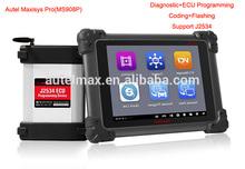 2014 Top version autel maxisys pro ms908p automotive diagnostic tool original Autel scanner with j2534 interface