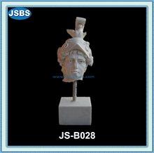 Natural Antique Small Roman Man Head Sculpture