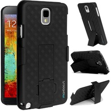 cell phone case and holster combo for samsung galaxy note 3