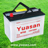 12V75AH Super Long Life Dry Charged Lead Acid Battery N70Z