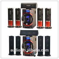 5.1 channel woofer speaker price subwoofer speaker with USD/SD/FM (DM-6566)