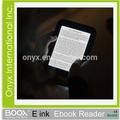 2015 caliente de la venta ePaperwhite nuevo concepto de educación Best selling Eink E de lectores de libros