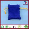 China Supplier Fashion Promotional Hand Eco Drawstring Velvet Gift Bag