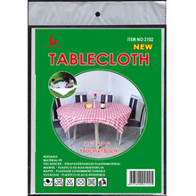 Disposable Plastic Vinyl printed tablecloth