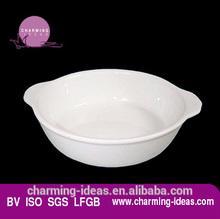 White round Style Porcelain Tray dish