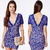 Hot selling woman dress latest design lady dress
