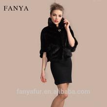 fashion hot selling mink fur coat