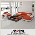 Ganasi cubierta sofá de la esquina, árabe sofá de cuero, cama de cuero muebles del sexo