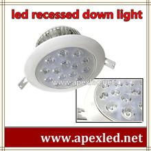 recessed led ceiling lights D16cm x 7.8cm aluminum heat sink