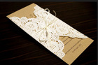 Wedding Invitation Round Lace Paper Doilies