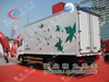 8-12T van body used truck,container carrier truck,DF145 Van truck with container