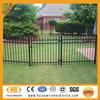 Black powder coated 3 foot aluminum fence china ( ISO factory )