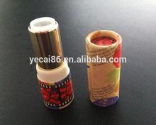 Wholesale bamboo cosmetic paper lip balm tube