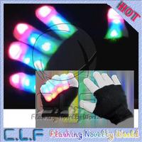 Hot seller Led Flashing Light UP Gloves