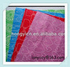 Printed nonwoven cleaning cloth
