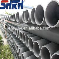 Large diameter plastic PVC drainage pipe/UPVC drainage pipe