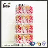 100 microns transparent film packaging film