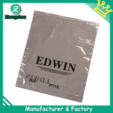 Guangzhou clear ziplock plastic bag in factory price (zz124)