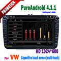 8 pouces. android. 4.1.1 bluetooth kit de voiture pour vw cc