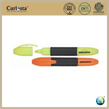 silicon grip highlight pen with blister packing