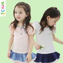 Baby Clothes Korea Fashion Summer Girls T Shirt