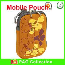 New design in 2014 Neoprene Zipper Pouch for Mobile Phone