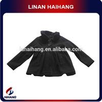 Lapel cute baby all black clothing