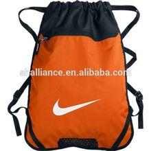Fashion Swoosh Training Drawstring Sack Pack Gym Beach Pool Bag