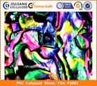 2014 Latest technology color pvc decoration glass film