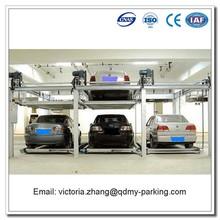 Underground Double Deck Car Parking with Smart Card Control 3D Garage Design