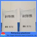 resistente al desgaste de alta alúmina ladrillos refractarios moldeables para la caldera