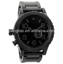 china made black colour wrist watch mens hand watch brand