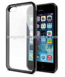 transparent Glass Air Cushion ultra hybrid case for iphone 5s 5 ,for iphone 5s case ulltra hybrid ,for iphone case 5s 6