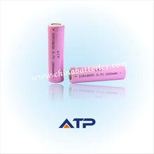 Ingrosso sedia a rotelle agli ioni di litio/1800mah 3.7v batteria al litio ricaricabile 18.650