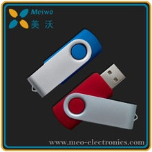 Wholesale Price Plastic & Metal Swivel usb flash drive , Swivel USB For Promotional Gift