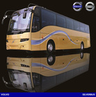 VOLVO Bus Silver Bus price of new bus for sale