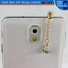Dustproof plug for iphone and Crystal Dust Plug