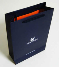 Delicate Custom Logo Print Gift Packaging Cheap Paper Shopping Bags