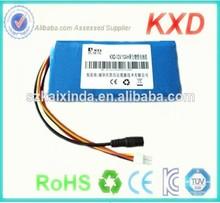 china lipo rechargeable 12v 10000mah battery pack