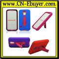 novo design de silicone gel com pc suporte do telefone móvel para cobrir caso samsung galaxy s5 i9600 2014